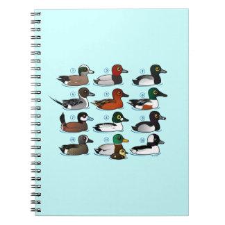 12 Ducks Spiral Notebook