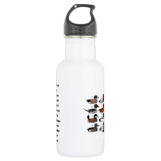 12 Ducks with Key 532 Ml Water Bottle