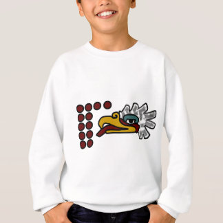 12 Eagle Aztec Day Sign Sweatshirt