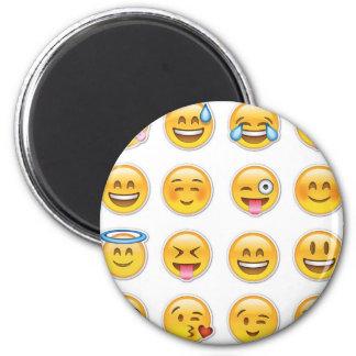 12 Emoji 2 Inch Round Magnet