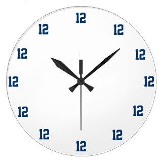"""12"" Fan Clock. Wallclock"