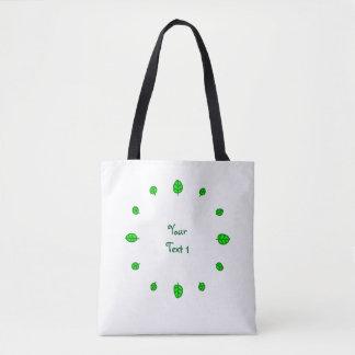 12 leaves tote bag