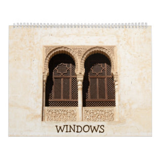 12 month Decorative Windows Calendar