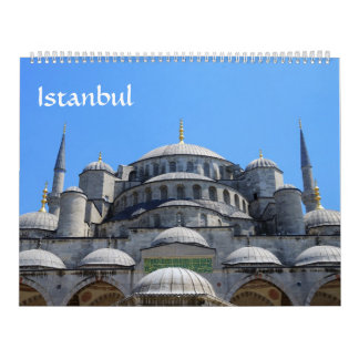 12 month Istanbul Photo Calendar