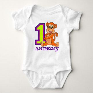 12 MONTH OLD Fist birthday Baby Bodysuit