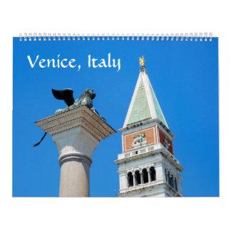 12 month Venice Photo Calendar