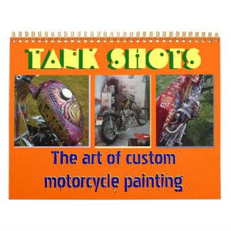 12 months 2013 custom motorcycle painting midi sz calendar