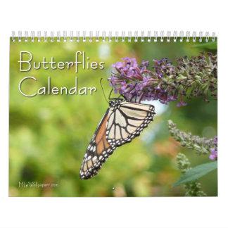 12 Months of Beautiful Butterflies Photography Wall Calendar
