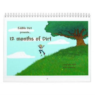 12 Months of Dirt Calendar