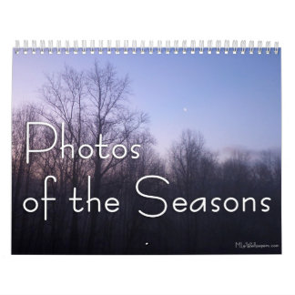 12 Months of Photos of the Seasons, 11th Edition Calendars