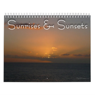 12 Months of Sunrises and Sunsets, 4th Edition Calendars