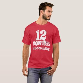 12 Months Sobriety T-Shirt