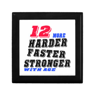 12 More Harder Faster Stronger With Age Gift Box