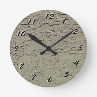 12 Number Choices to Choose --Sage Green Clock