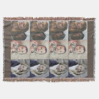 12 Photo Throw Blanket