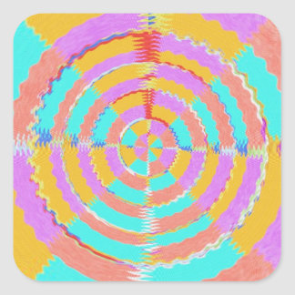 12  PURE Energy Vibes Aura Cleaning Spectrum Square Sticker
