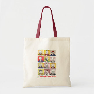 12 Russian Composers Tote Bag