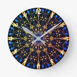 12 sided Mandala Clock #1