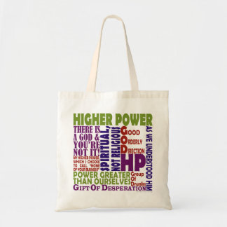 12 Step Higher Power Tote Bag