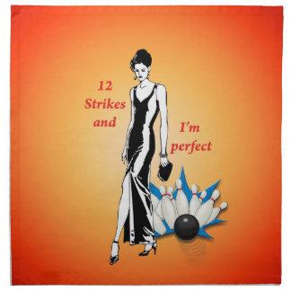 12 Strikes and I'm Perfect #1 Napkin