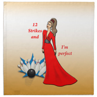 12 Strikes and I'm Perfect #2 Napkin