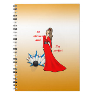 12 Strikes and I'm Perfect #2 Spiral Notebook