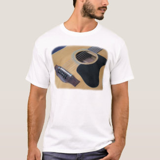 12 String Acoustic Guitar T-Shirt