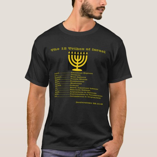 12  Tribes Of Israel: Let Us Hear The Conclusion T-Shirt