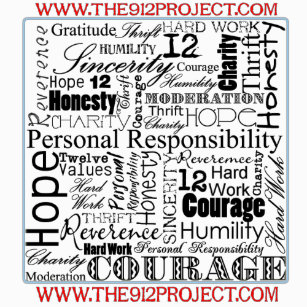 12 Values Of The 9 Project T Shirt
