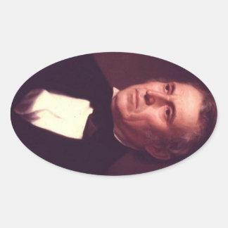 12 Zachary Taylor Oval Sticker