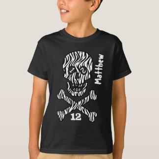 12th Birthday Skull and Crossbones  12 Years V04 T-Shirt