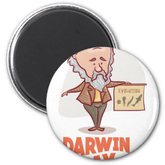 12th February - Darwin Day - Appreciation Day Magnet