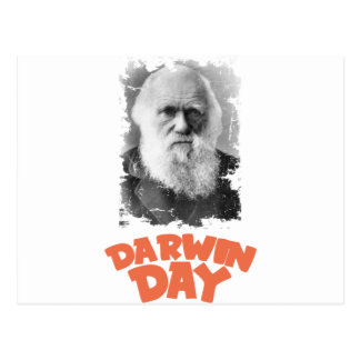 12th February - Darwin Day Postcard