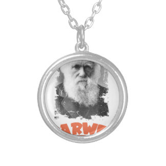 12th February - Darwin Day Silver Plated Necklace