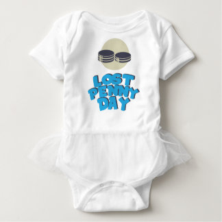 12th February - Lost Penny Day - Appreciation Day Baby Bodysuit
