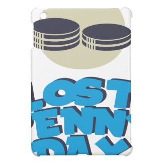 12th February - Lost Penny Day - Appreciation Day iPad Mini Cover