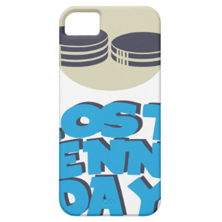 12th February - Lost Penny Day - Appreciation Day iPhone 5 Case
