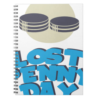 12th February - Lost Penny Day - Appreciation Day Notebooks