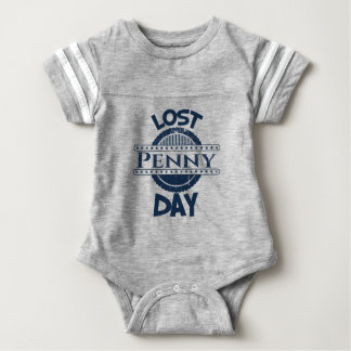12th February - Lost Penny Day Baby Bodysuit