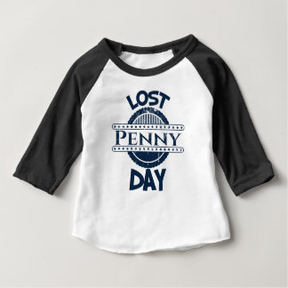 12th February - Lost Penny Day Baby T-Shirt