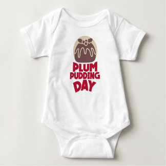 12th February - Plum Pudding Day Baby Bodysuit