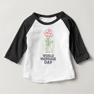 12th February - World Marriage Day Baby T-Shirt