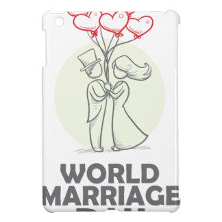 12th February - World Marriage Day iPad Mini Cover