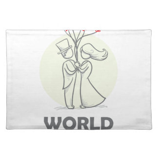 12th February - World Marriage Day Placemat