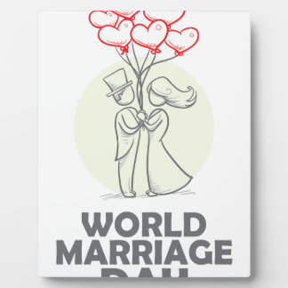 12th February - World Marriage Day Plaque