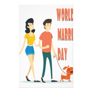 12th February - World Marriage Day Stationery