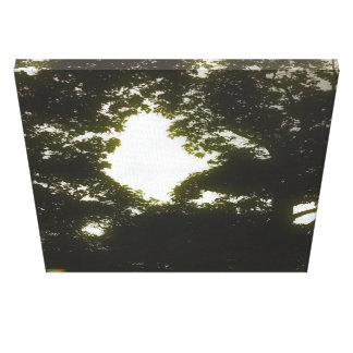 12th Pattern; Tree Silhouette Canvas Print