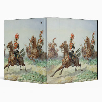 12th Royal Lancers (w/c over pencil heightened wit 3 Ring Binders