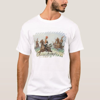 12th Royal Lancers (w/c over pencil heightened wit T-Shirt