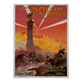 12th Salon de l'Automobile Poster